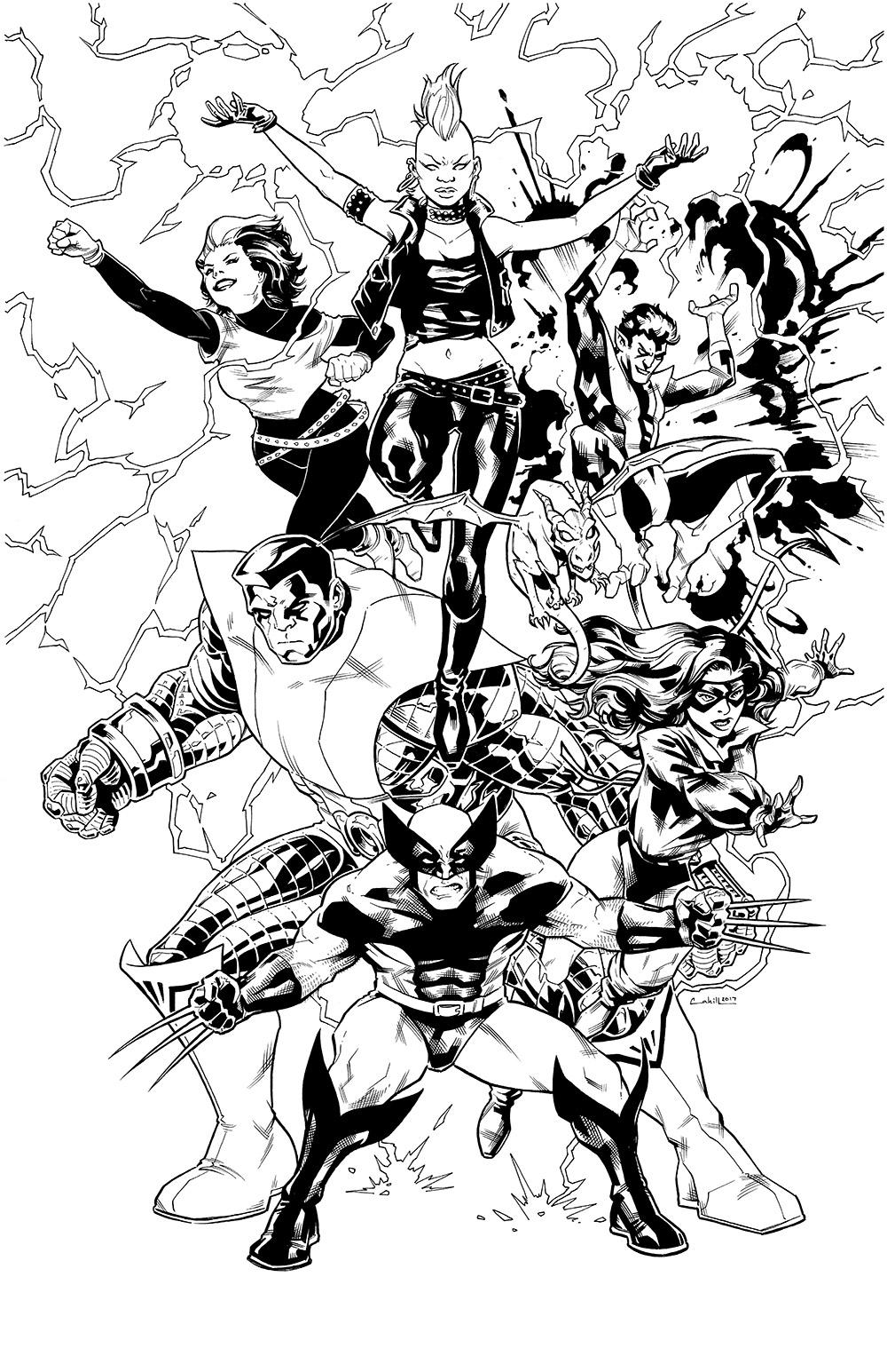 Classic X-Men Spec/Pinup