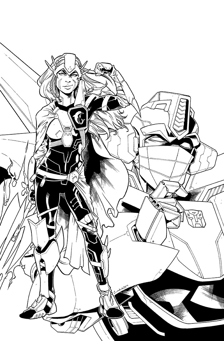 Transformers vs.<br />Visionaries #4, Cover<br />$600