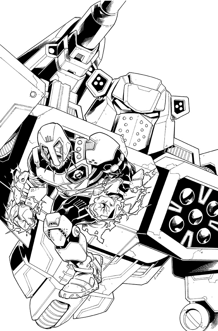 Transformers vs.<br />Visionaries #5, Cover<br />$600