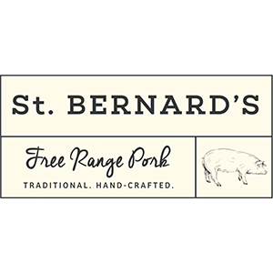St Bernard's St. Bernard's is Australia's finest, APIQ certified free range pork - farmed in the Riverina and the Northern Grampians. Produced by experienced farmers, St. Bernard's is for pork lovers looking for great tasting, top quality, free range pork.