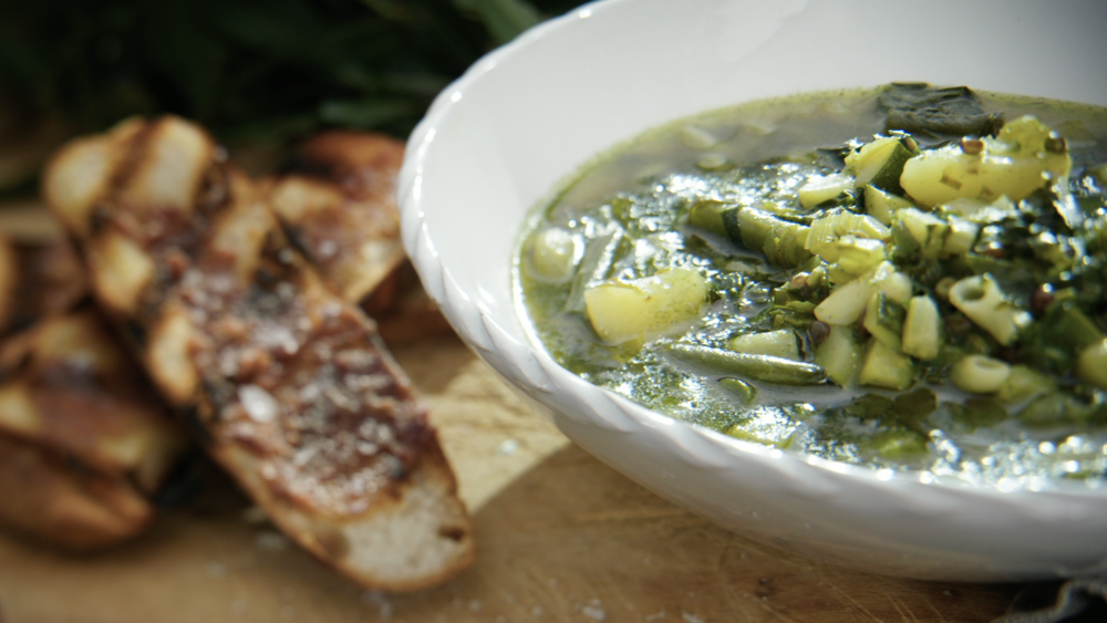 Green Goddess Minestrone
