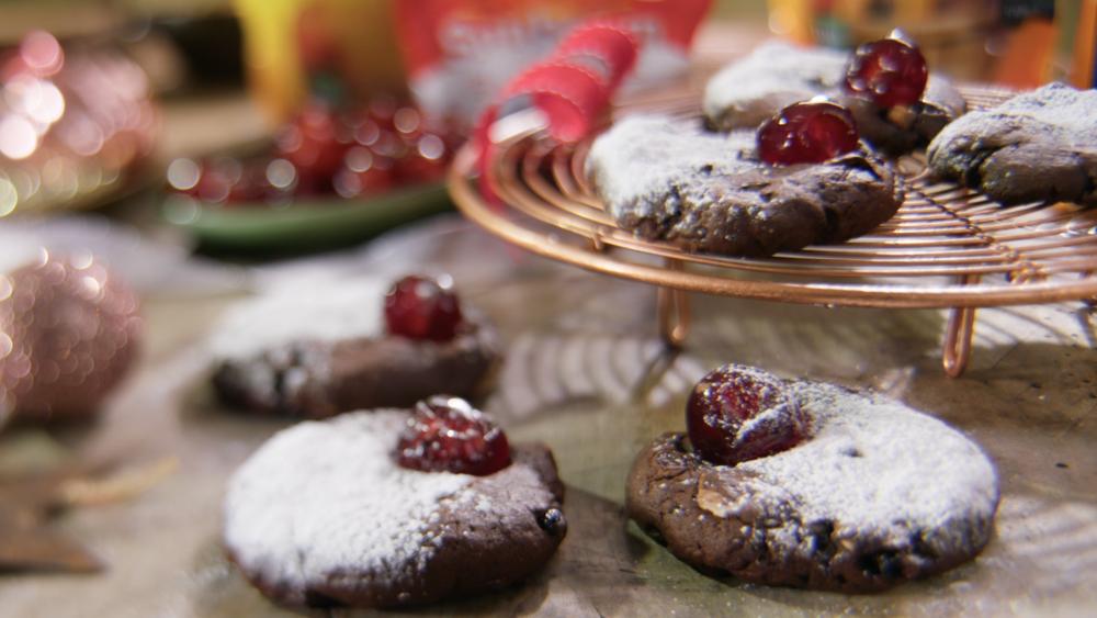 Rudolf's Chocolate & Fruit Cookies