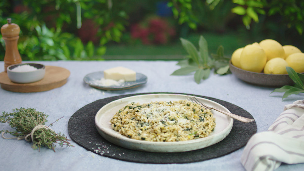 Lemon and Thyme Risotto