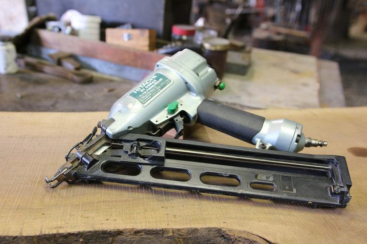 Hitatchi Finish Nailer — Essential Craftsman