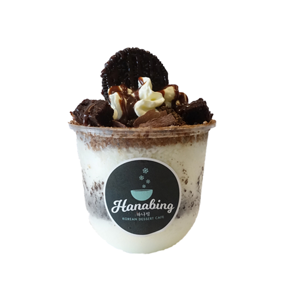 Chocolate Cup Bingsu