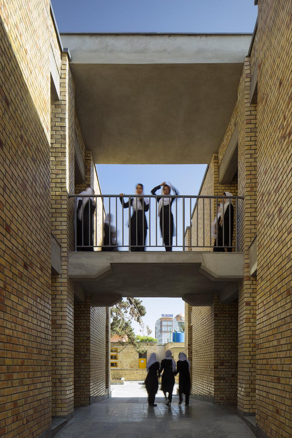 Goharkhatoon Girl School bridges@Nic Lehoux.jpg