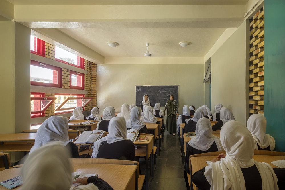 Goharkhatoon Girl School Classroom@Nic Lehoux.jpg