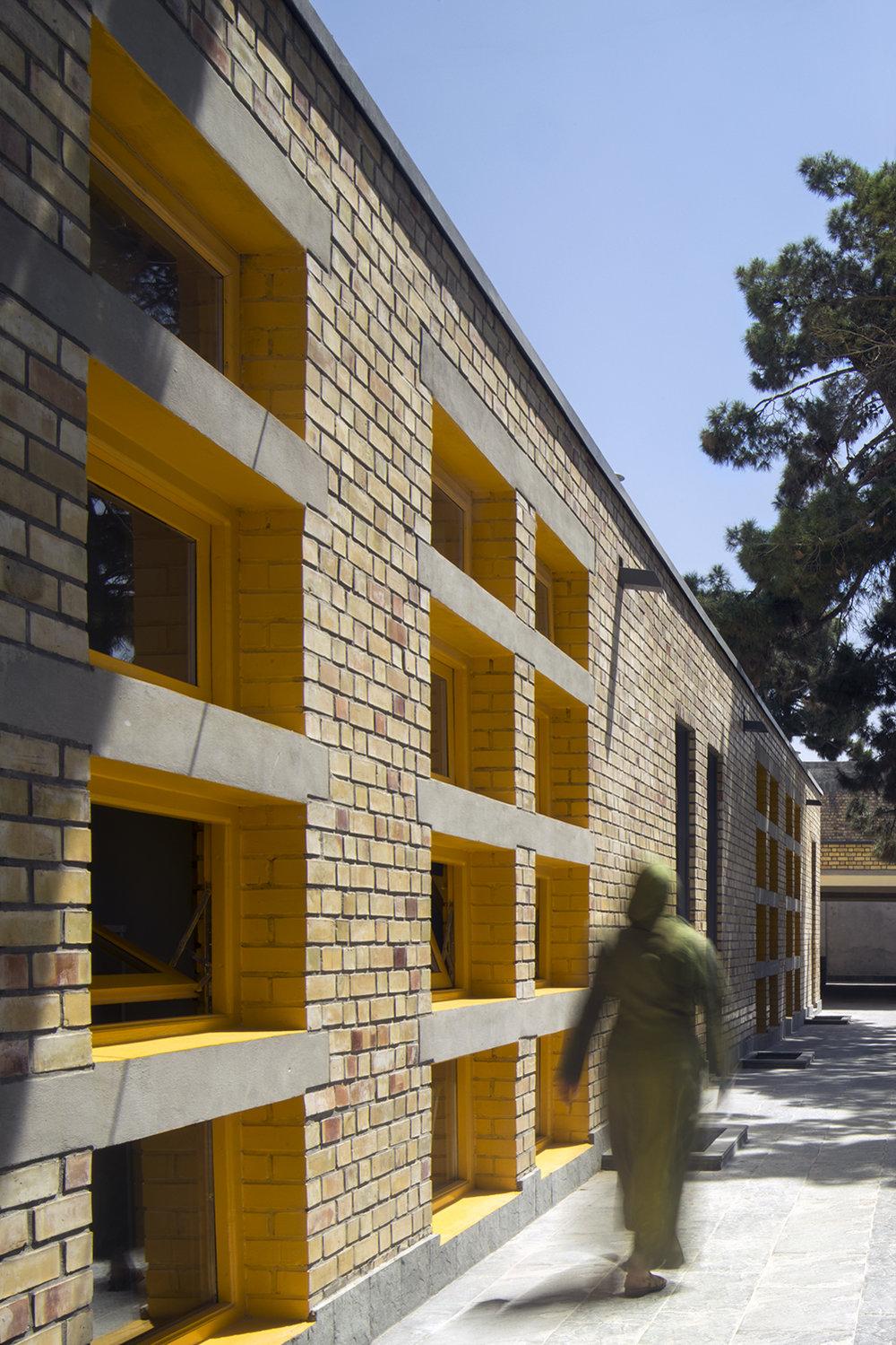 Goharkhatoon Girl School offices@Nic Lehoux.jpg