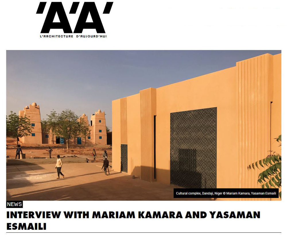 AA Interview Yasaman Esmaili Mariam Kamara