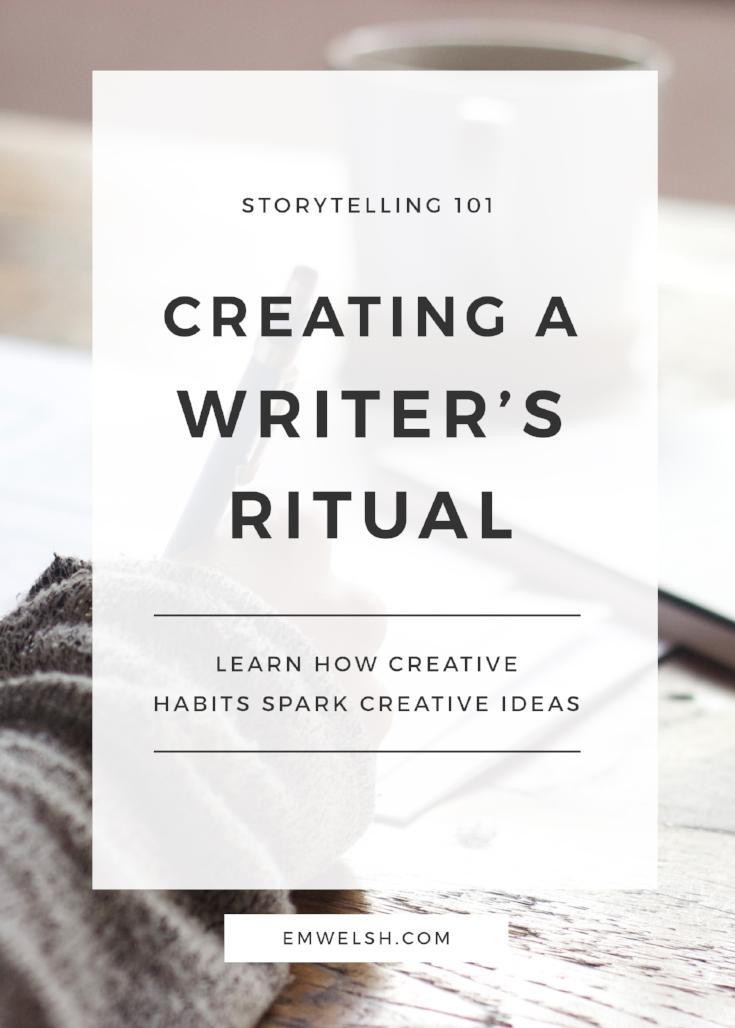 Writer's Ritual