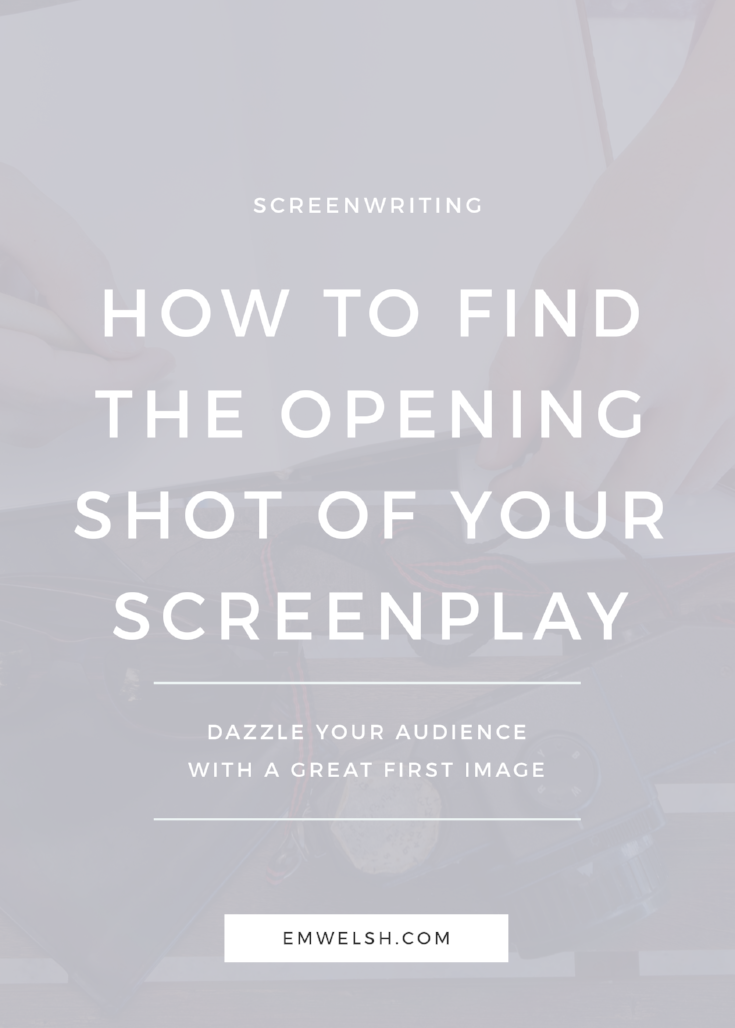 Opening Shot Screenplay