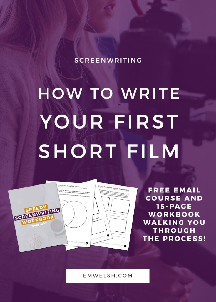 How to Write Your First Short Film copy