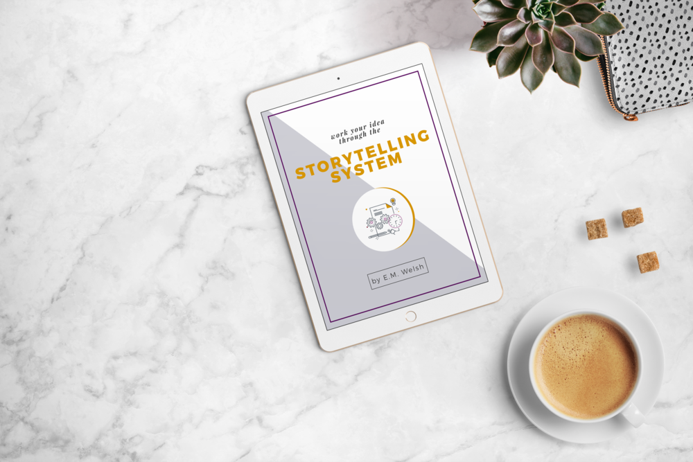 Start your journey from writer to storyteller. - Grab the free ebook, The Storytelling System to learn exactly what makes storytelling so different today, then learn how to take your ideas and imagine them as novels, screenplays, plays, and video games.