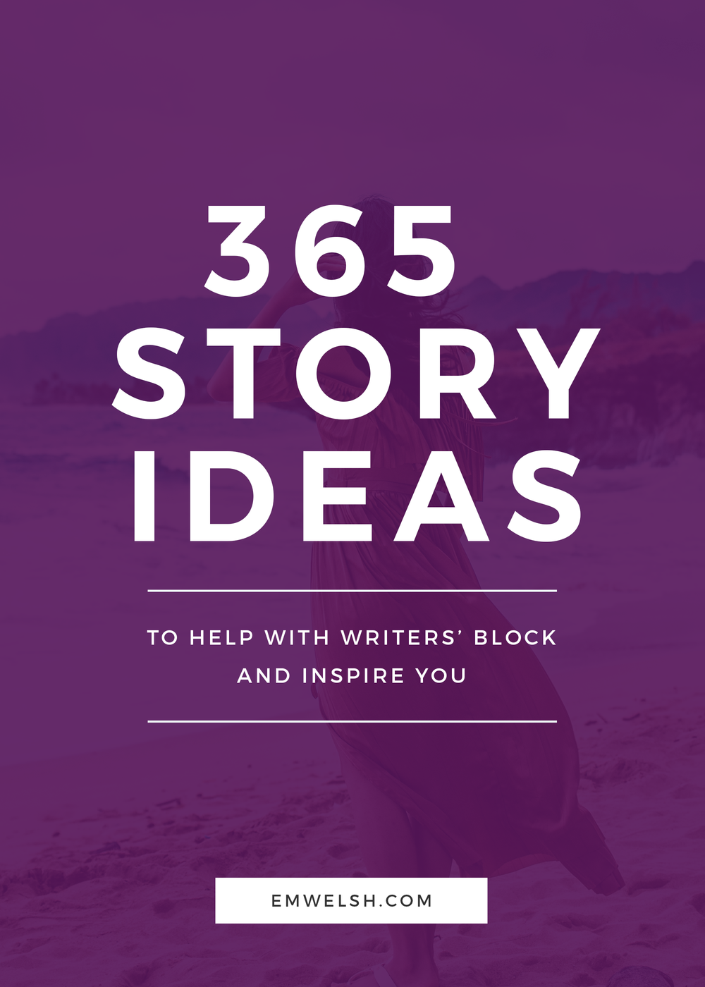 365 Story Ideas — E M  Welsh