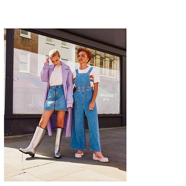 メリッサの新しいアイテムがiheartで新発売!FUSIONのショートブーツとFULLNESSのニーハイレインブーツは最新技術で構成されたインソールを使用してるからおしゃれだけじゃなく万能よん♪ 👌🏻💗 New in from @melissashoesjapan ✨Boot styles brought to you with the latest in insole and nanotechnology! Featured in several different colors for all your fashion needs 👞❤️