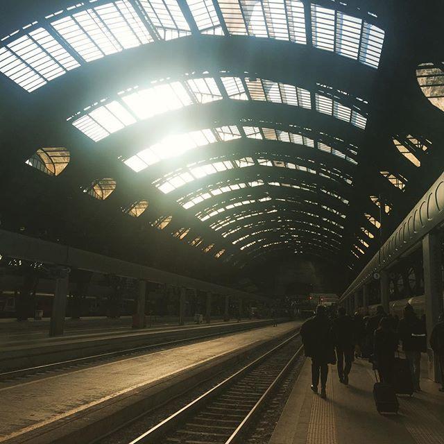 Catching the details #milan #milancentralstation #railstation #railstagram #sky_brilliance #infrastructure #coolstructures #coolpics #instapics #sunset