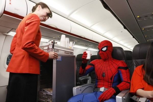 Spiderman + Jetstar  Influencer Marketing Campaign (Project page coming soon!)
