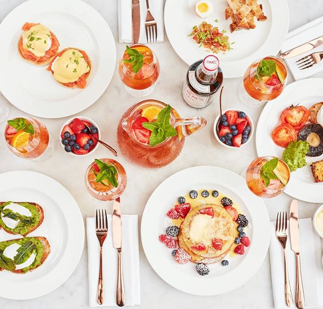 Bank Holiday stop press: the @PimmsGB Brunch Series has just launched at Bourne and Hollingsworth Buildings, and to celebrate, we have some delicious new Pimm's cocktails throughout June. Try one with your brunch dishes when you see us this weekend (& beyond) 🍹🍸 #PimmsOClock #PimmsBrunch