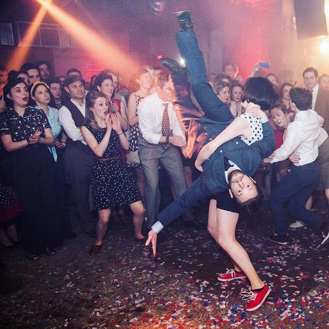 Two days until dancing with wild abandon, whatever might be going on in the outside world. 💃🏻 #theblitzparty