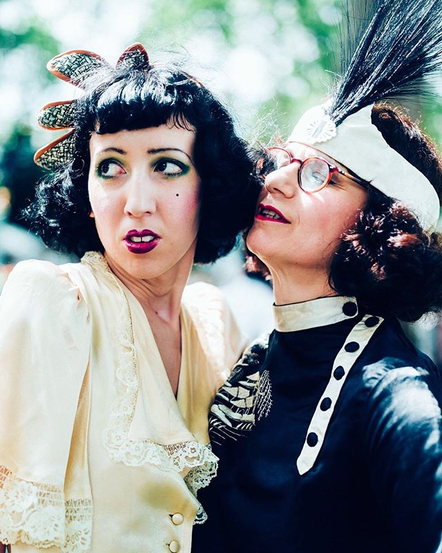 The beautiful, Bright Young Things of the Bloomsbury Set? In fact: Ladies of the Olympiad, Part 1 - a portrait series.  Photo by @hanson_leatherby_photography #thechapolympiad