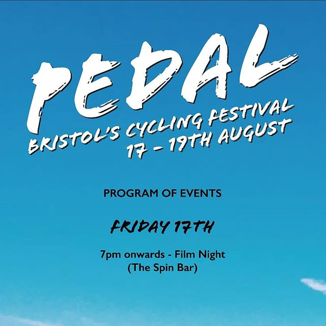 Here's a look at the schedule for the whole Pedal weekend. All the events will be taking place at the Brunel Quay area of Bristol Harbour, where @spokeandstringer is situated. 🚴  As well as all the events, we will be joined by great brands and local businesses all weekend too. ☀️ Join us in celebrating why we ride bikes.  Bristol. 17-19th August 2018.  #rideculturepedal #bristol #bristolcycling #bristolevents #visitbristol #bristol247 #foreverpedalling #dasradklub #goodvibesandbikerides #cycling #southwestisbest #cyclinglifestyle #igersbristol #sustrans #betterbybike #fromwhereiride
