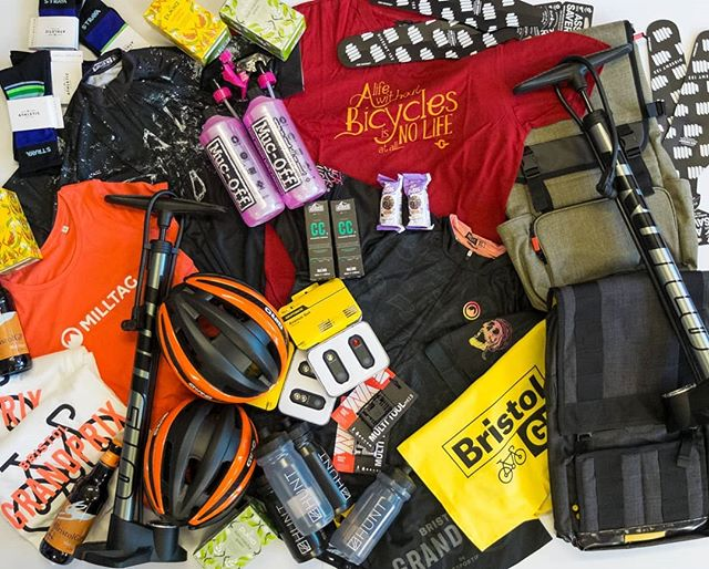 All of this is up for grabs if you take part in our @rollapaluza evening! THIS SATURDAY!!We have equal prizes for men and women. 🚲  A huge THANK YOU to @strava , @trikayoga , @focus_muscle_therapy , @mucoff , @genesisbikesuk , @bristolgrandprix , @huntbikewheels , @pukkaherbs , @milltag , @bathales and everyone else who has donated prizes. 🎫  Get involved by grabbing a free ticket via the link in our bio. Or just come along and cheer on Saturday night!! We'll be at @thespinbarbristol 🏆  Keep an eye out for EVEN MORE prizes that will part of our raffle!! We'll be selling tickets all weekend to raise money for @pedalprogression ☀️ #rideculturepedal #bristol #bristolcycling #bristolevents #visitbristol #bristol247 #foreverpedalling #dasradklub #goodvibesandbikerides #cycling #southwestisbest #cyclinglifestyle #igersbristol #sustrans #betterbybike #fromwhereiride