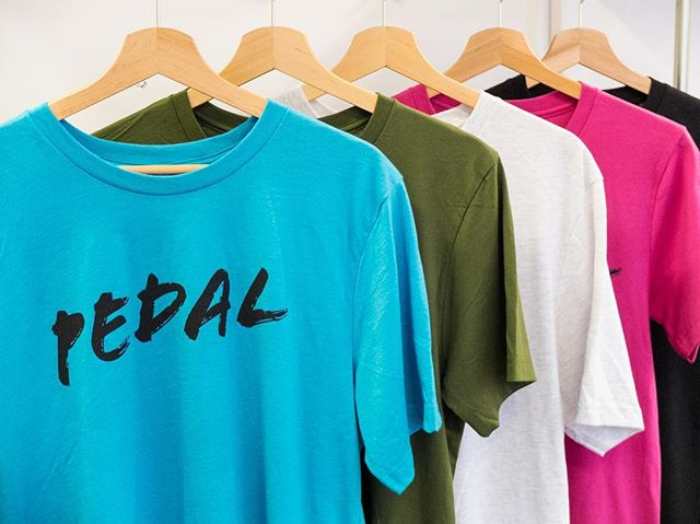 PEDAL t-shirts will be available all weekend, in 5 colour choices! Each one comes with a free PEDAL tote full of goodies from our supporters! PLUS we will donate a percentage of t-shirt sales to the @pedalprogression trail maintenance fund too! Head to the @foreverpedalling stall to grab yours! 🚲 #rideculturepedal #bristol #bristolcycling #bristolevents #visitbristol #bristol247 #foreverpedalling #dasradklub #goodvibesandbikerides #cycling #southwestisbest #cyclinglifestyle #igersbristol #sustrans #betterbybike #fromwhereiride #pedalprogression