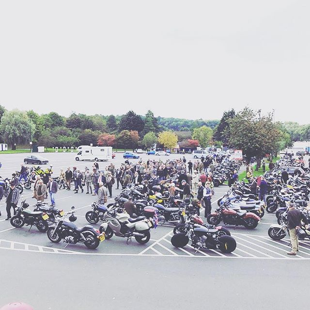 (link in bio) THE DISTINGUISHED GENTLEMAN'S RIDE - This Sunday morning !! We'll be starting @spokeandstringer_shopdeli (the Gentleladies will at least as I can't make it) for coffee on us for all riders !!! Coast down to the front door of @spokeandstringer - watch out for pedestrians ;) - MOST IMPORTANTLY register NOW and DONATE (follow link in bio) : CLASSIC & VINTAGE STYLE MOTORCYCLES UNITE FOR PROSTATE CANCER AND MEN'S MENTAL HEALTH SUPPORTING THE MOVEMBER FOUNDATION - 30th September WORLDWIDE #dgrbristol #bristolmotorcycle #rideculture #movember #rideout #distinguishedgentlemansride #spokeandstringer