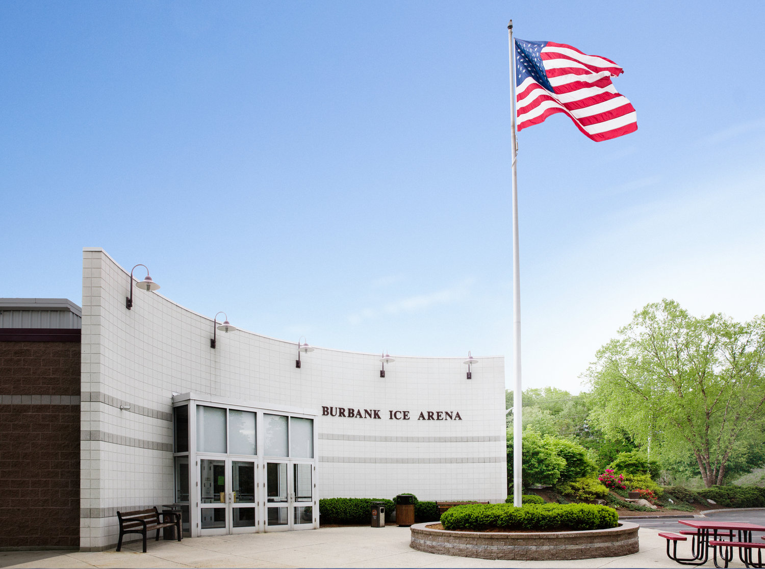Image result for burbank arena, reading, ma