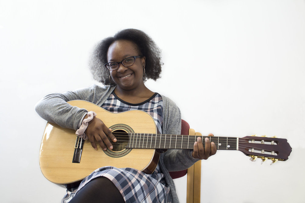 Meet Ese - I joined CYAC to make new friends. The art forms I'm into are singing, dancing, acting and playing my guitar in my spare time.