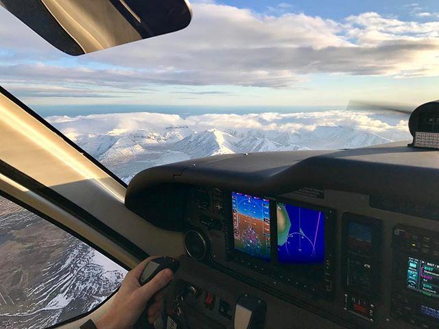Ótrúlegt útsýnið úr djásninu! #tecnamp2010 #tften #aviation #iceland #beautyful