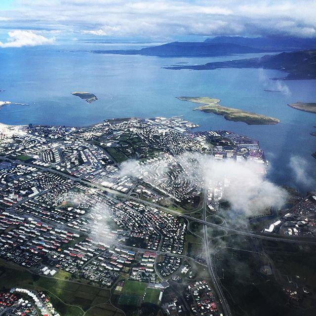 Skýjum ofar yfir #reykjavík #einkaflug #geirfugl