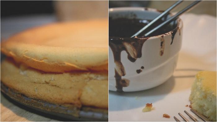 Soufflé-Cheesecake