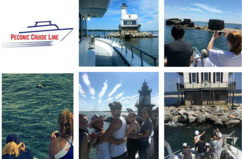 Lighthouse & Seal Watching Cruise - DAILY: 7/2- 9/2 WEEKENDS: thru 7/1 * 9/8 & 9 - 10/27 & 28Enjoy close-up views of Long Beach Bar