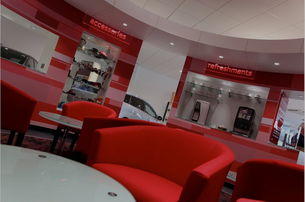 End to End ShowroomFit Outs -