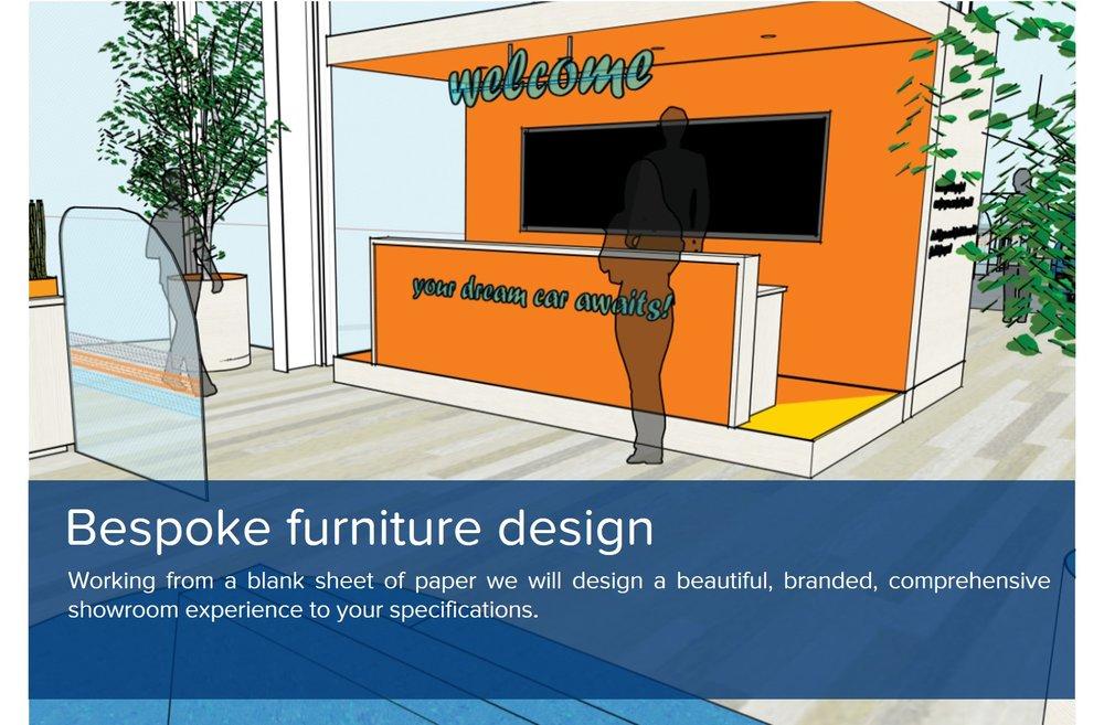 showroom bespoke furniture design
