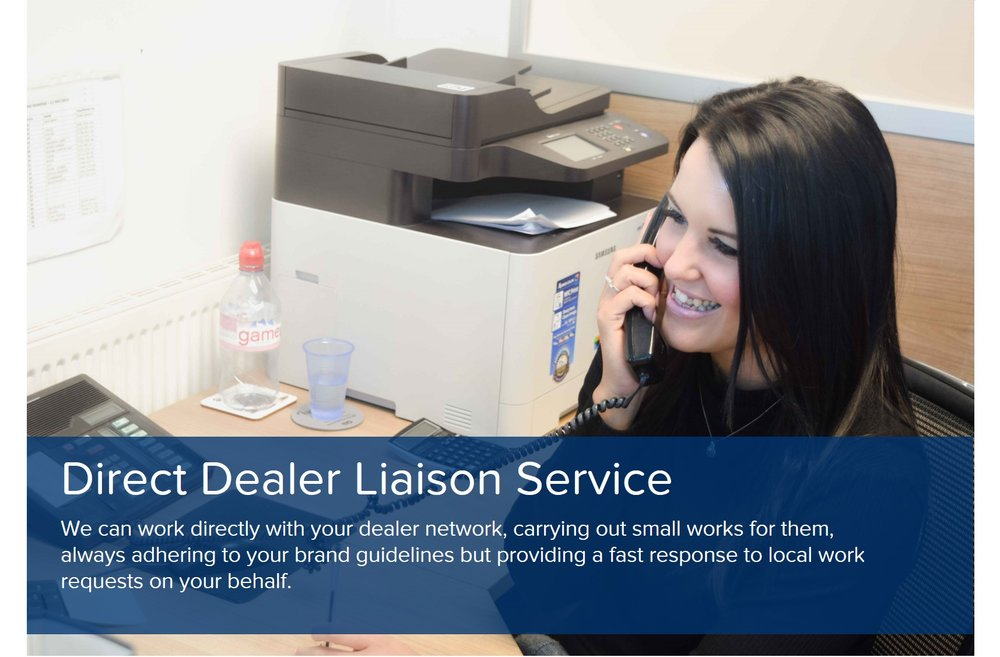 showroom design liason services