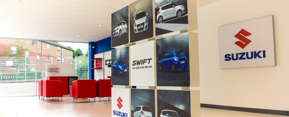 showroom interior design suzuki