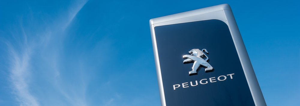 Peugeot logo Truscotts