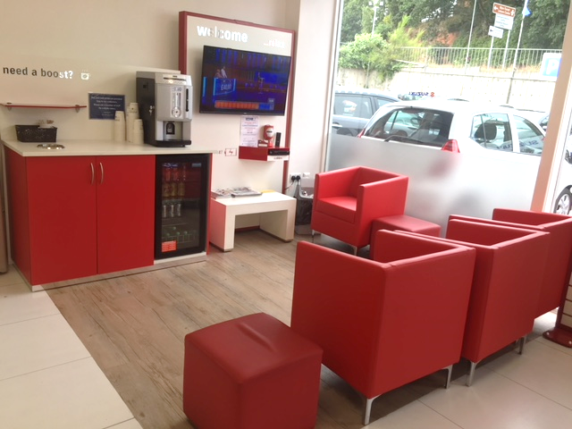 new customer service area for clarks of kidderminster interact rh interactshowrooms com