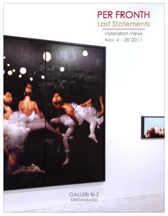 2011:  last statements / Installation view  galleri bi-z kristiansand / NO