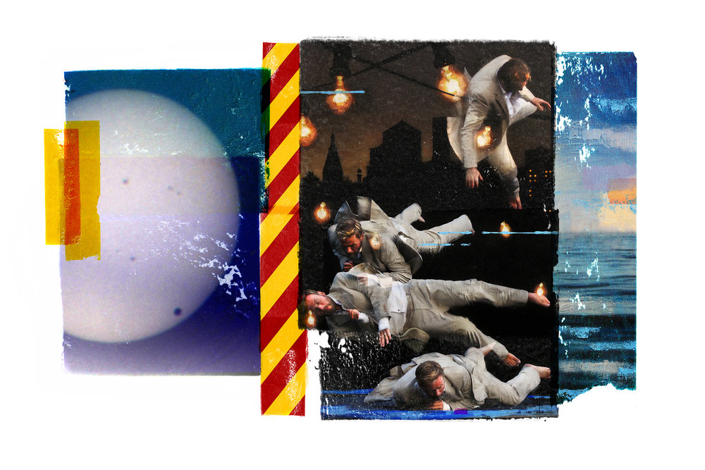 Gravity ( Joy) Venus Passage / Inner Peace  Original Archival UV Pigment Print / BFK Rives 300 gr 120 x 80 cm / 47 x 32 in Edition of 50 + 5 A Editeur: Per Fronth Studios / Printer Henrik Aunevik  03/2017