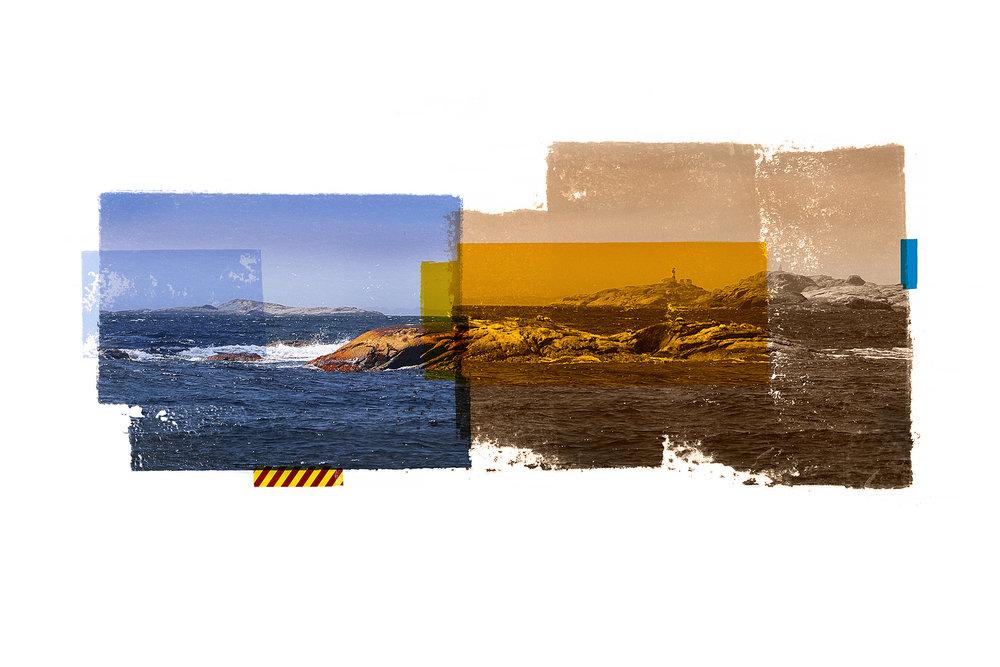 Pysen / Udvaar (Archipelago)  Original Archival UV Pigment Print / BFK Rives 300 gr 120 x 80 cm / 47 x 32 in Edition of 50 + 5 A Editeur: Per Fronth Studios / Printer Henrik Aunevik  06/2017: