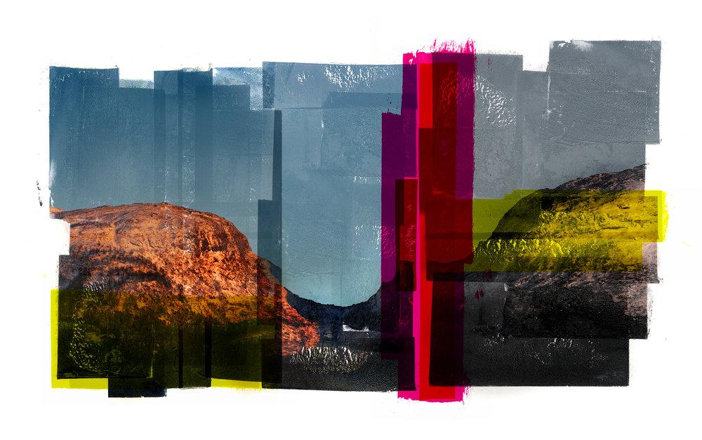 Djupskår / Setesdal  Original Archival UV Pigment Print / BFK Rives 300 gr 120 x 80 cm / 47 x 32 in Edition of 50 + 5 A Editeur: Per Fronth Studios / Printer Henrik Aunevik  08/2017:
