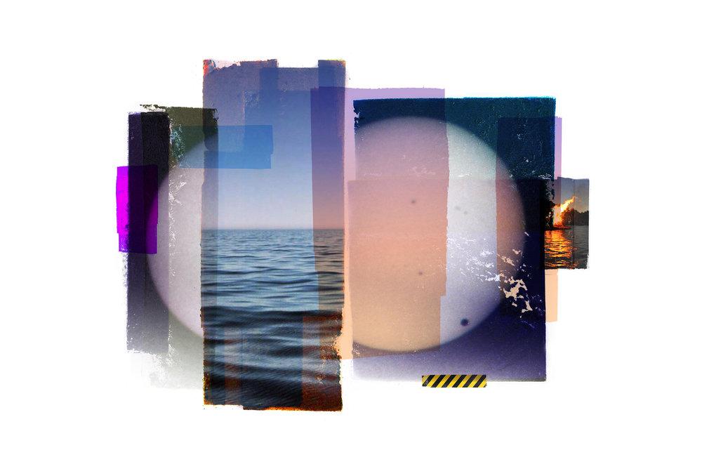 Inner Peace / Hydrogen   Original Archival UV Pigment Print / BFK Rives 250 gr 56 x 35 cm / 22 x 13,7 in Edition of 50 + 5 A Editeur: Per Fronth Studios / Printer Henrik Aunevik  09/2017: