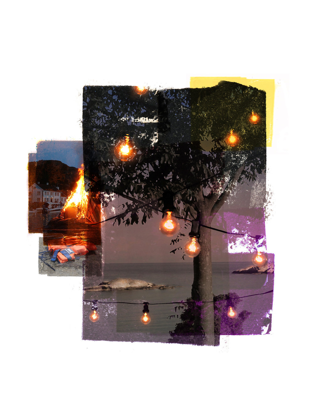 Rim of the party / Olsok / Edge of the party  Original Archival UV Pigment Print / BFK Rives 250 gr 22 x 20 cm / 8,6 x 7,8 in Edition of 15 + 3 Ap Editeur: Per Fronth Studios / Printer Henrik Aunevik  11/2016: