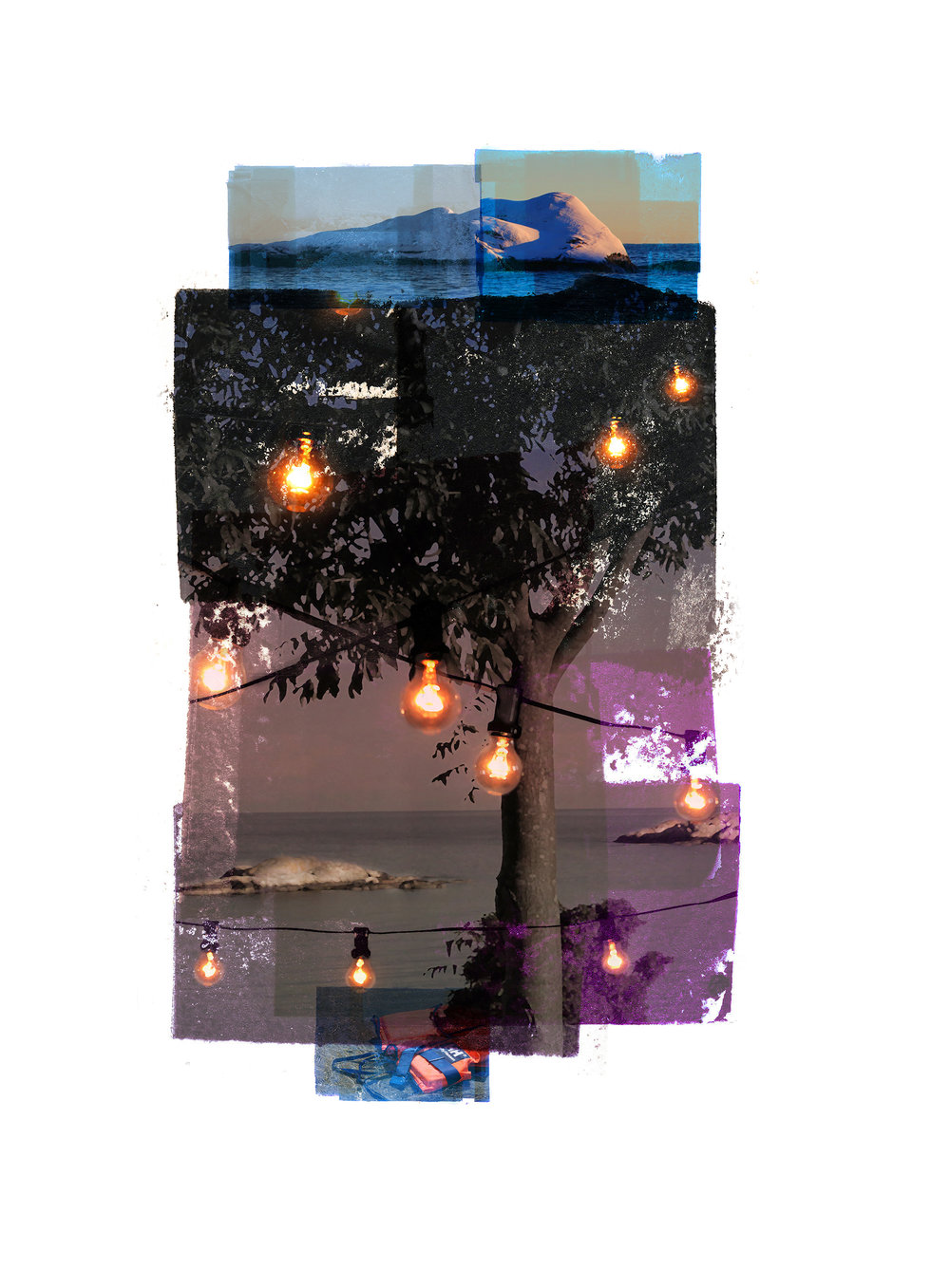 Rim of the party / Wintersun / HH  Original Archival UV Pigment Print / BFK Rives 250 gr 25 x 35 cm / 13,7 x 10 in Edition of 50 + 7 Ap Editeur: Per Fronth Studios / Printer Henrik Aunevik  13/2016: