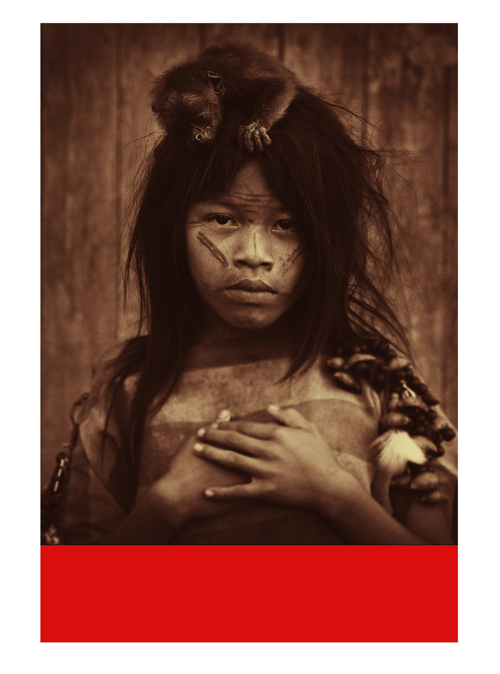 Dalia / Daughter of the rainforest  Photolitho / IDEM PARIS/ BFK Rives 250 gr 118  x 160 cm / 46,5 x 63  in Edition of 15 + 5 Ap Editeur: IDEM PARIS / Per Fronth   19/2016: