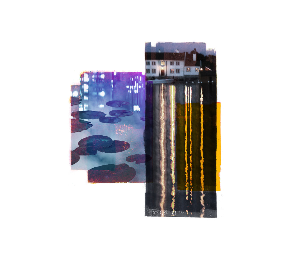 Waterlillies / Central Park / Time &Reflection  Original Archival UV Pigment Print / BFK Rives 250 gr 35 x 25 cm / 13,7 x 9,8 in Edition of 50 + 7 Ap Editeur: Per Fronth Studios / Printer Henrik Aunevik  23/2016: