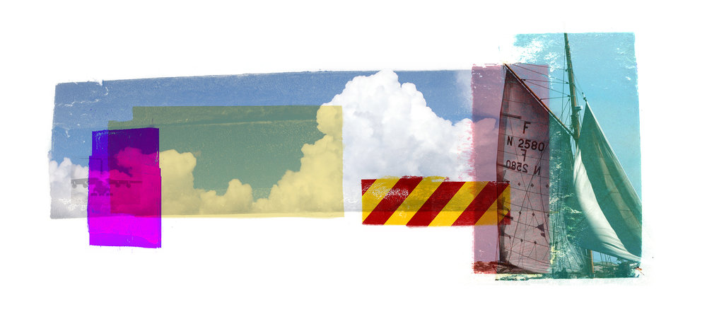Cumulus / Second Wind I  Original Archival UV Pigment Print / BFK Rives 250 gr 56 x 25 cm / 22 x 9,8 in Edition of 50 + 7 Ap Editeur: Per Fronth Studios / Printer Henrik Aunevik  02/2015: